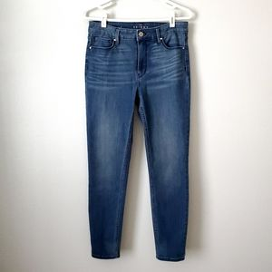 WHBM The Skinny Ankle High Rise Jeans, Size 4